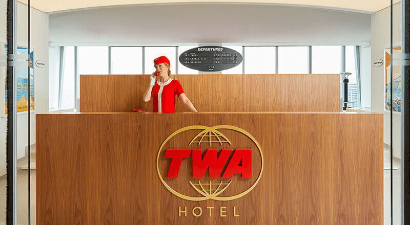 TWA Lounge at One World Trade Center
