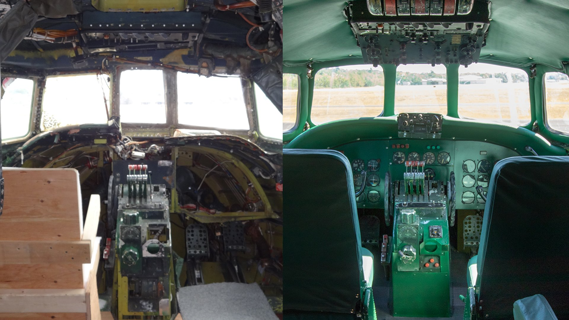 TWA_Connie_BeforeandAfter_PlaneControls