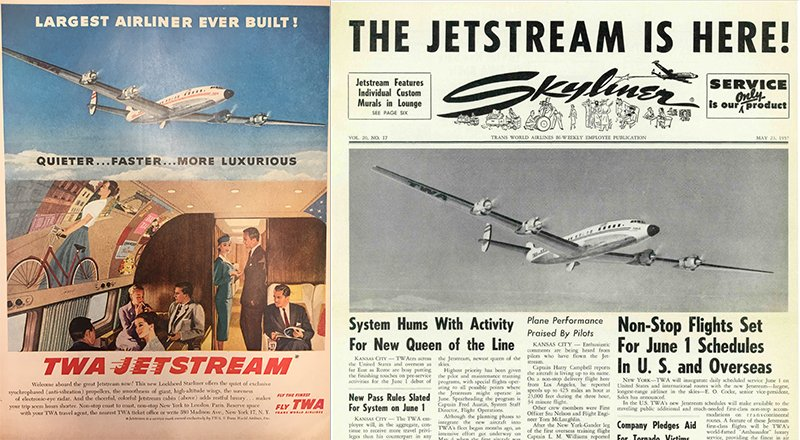 TWA Skyliner The Jetstream is Here