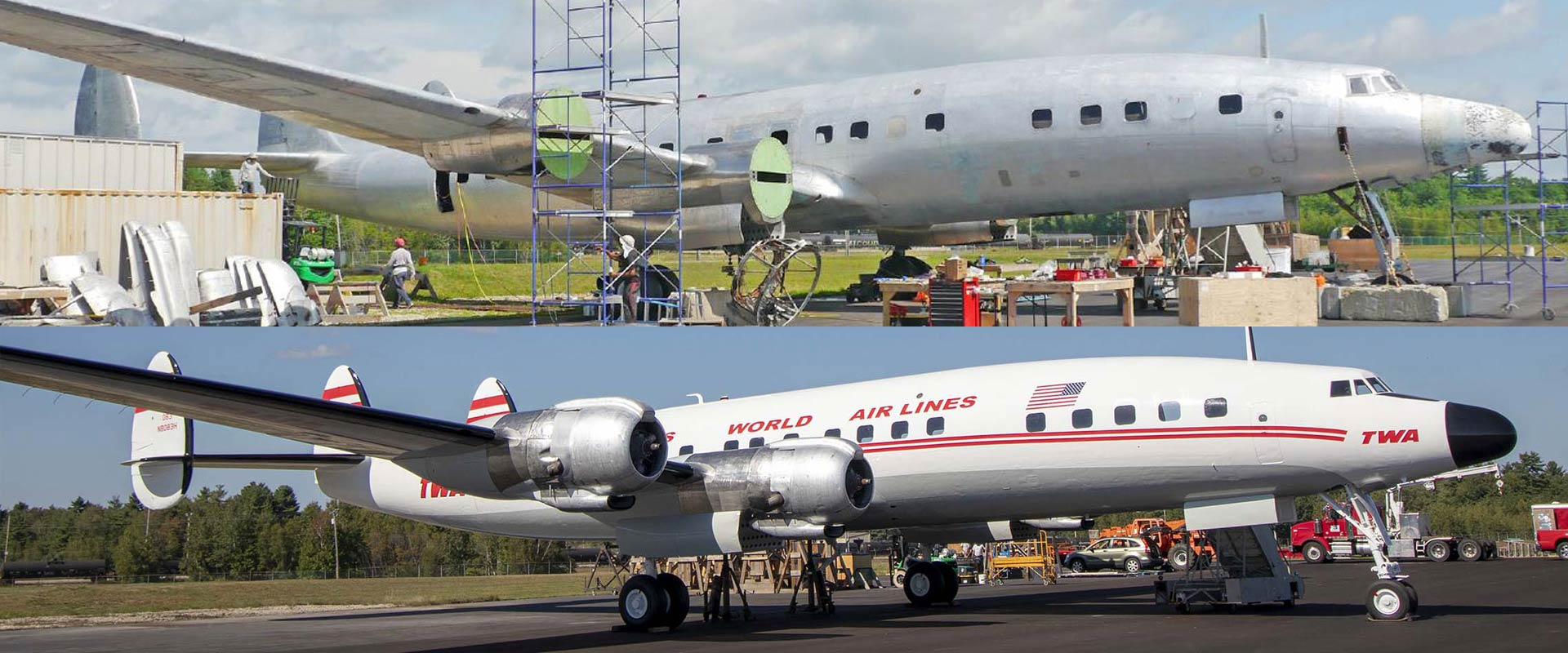 TWA_Connie_BeforeandAfter_FullPlane
