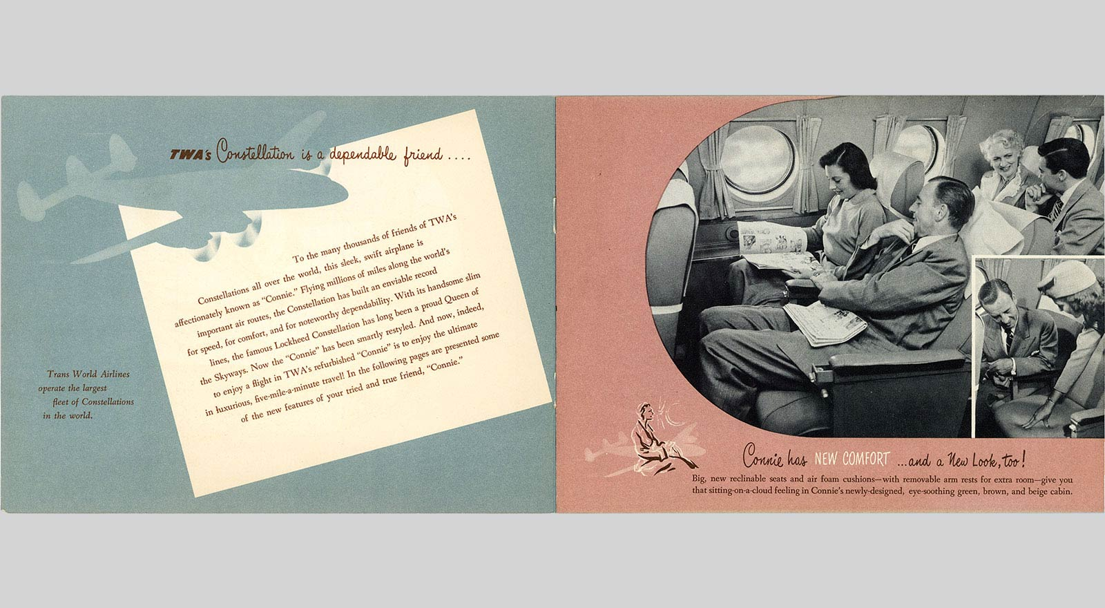 TWA Connie Has Style Book, Page 2