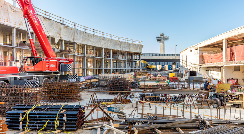 TWA Hotel Contruction