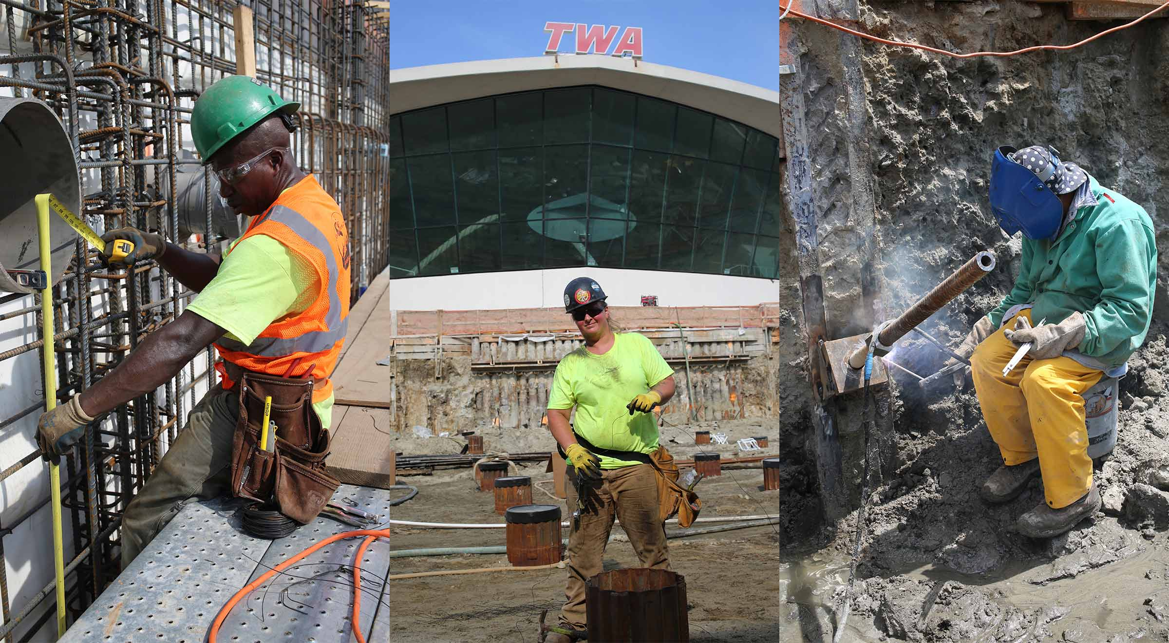 TWA Hotel Construction Team