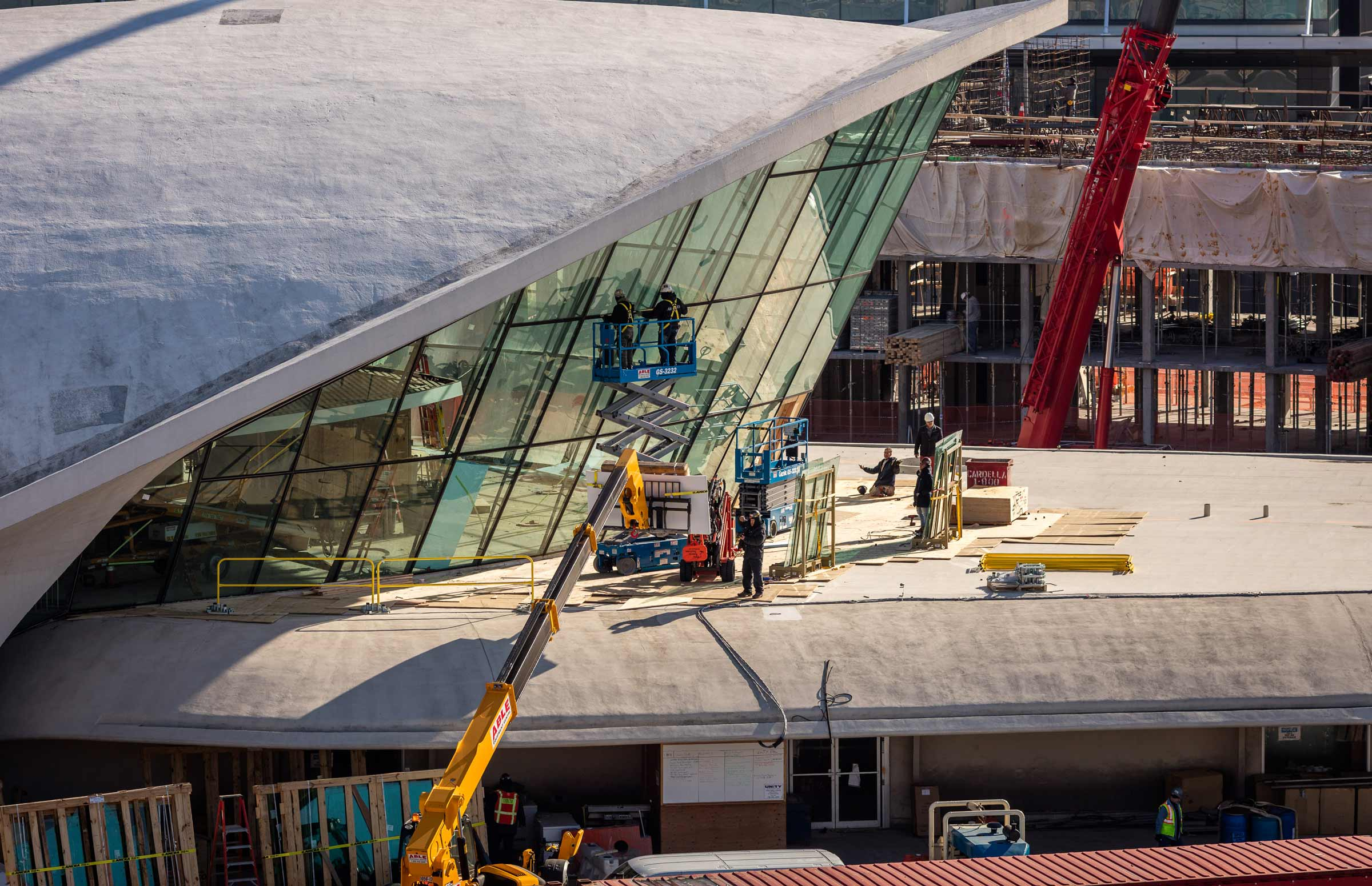 TWA Hotel | Construction