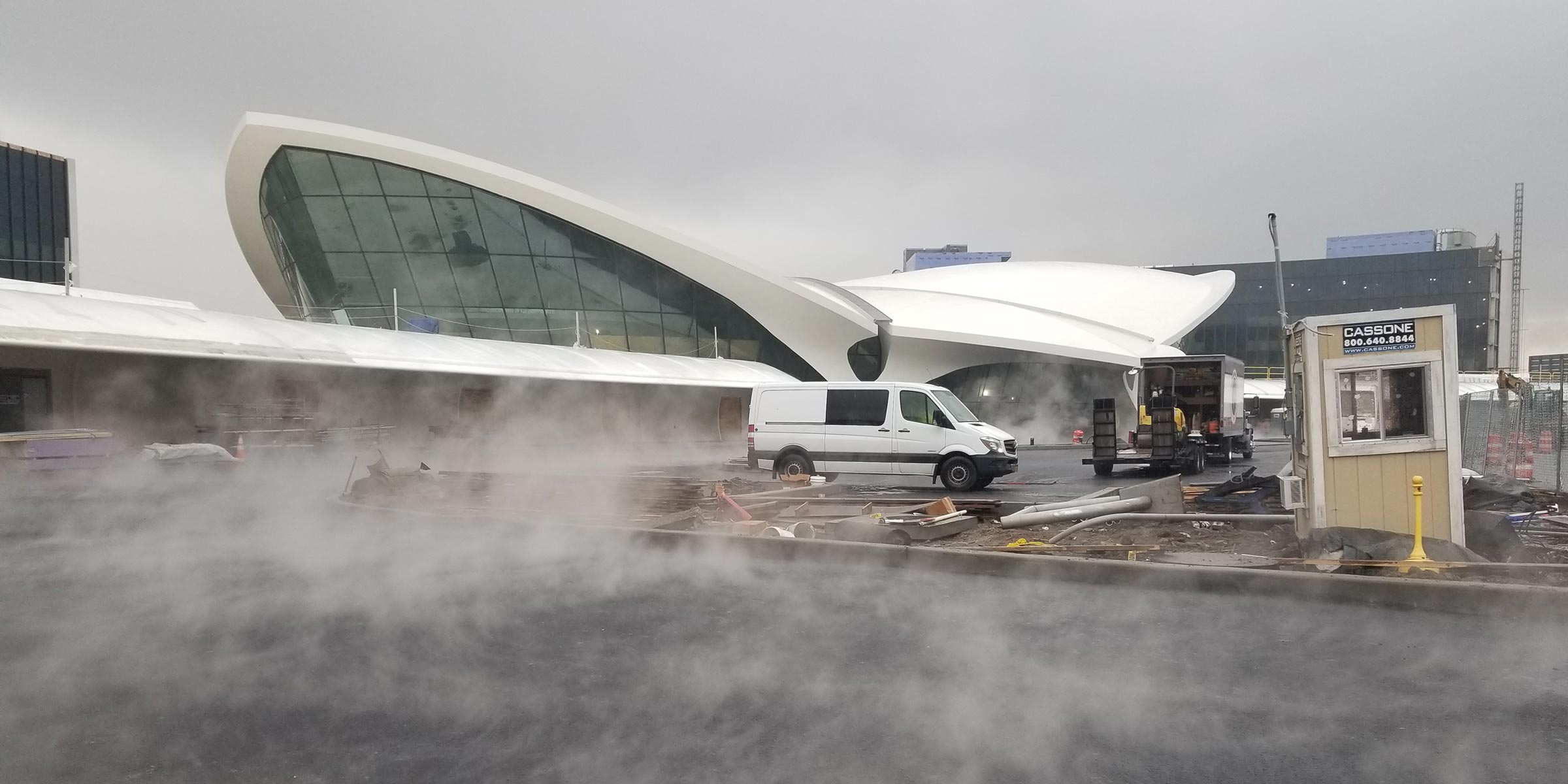 TWA Hotel Construction