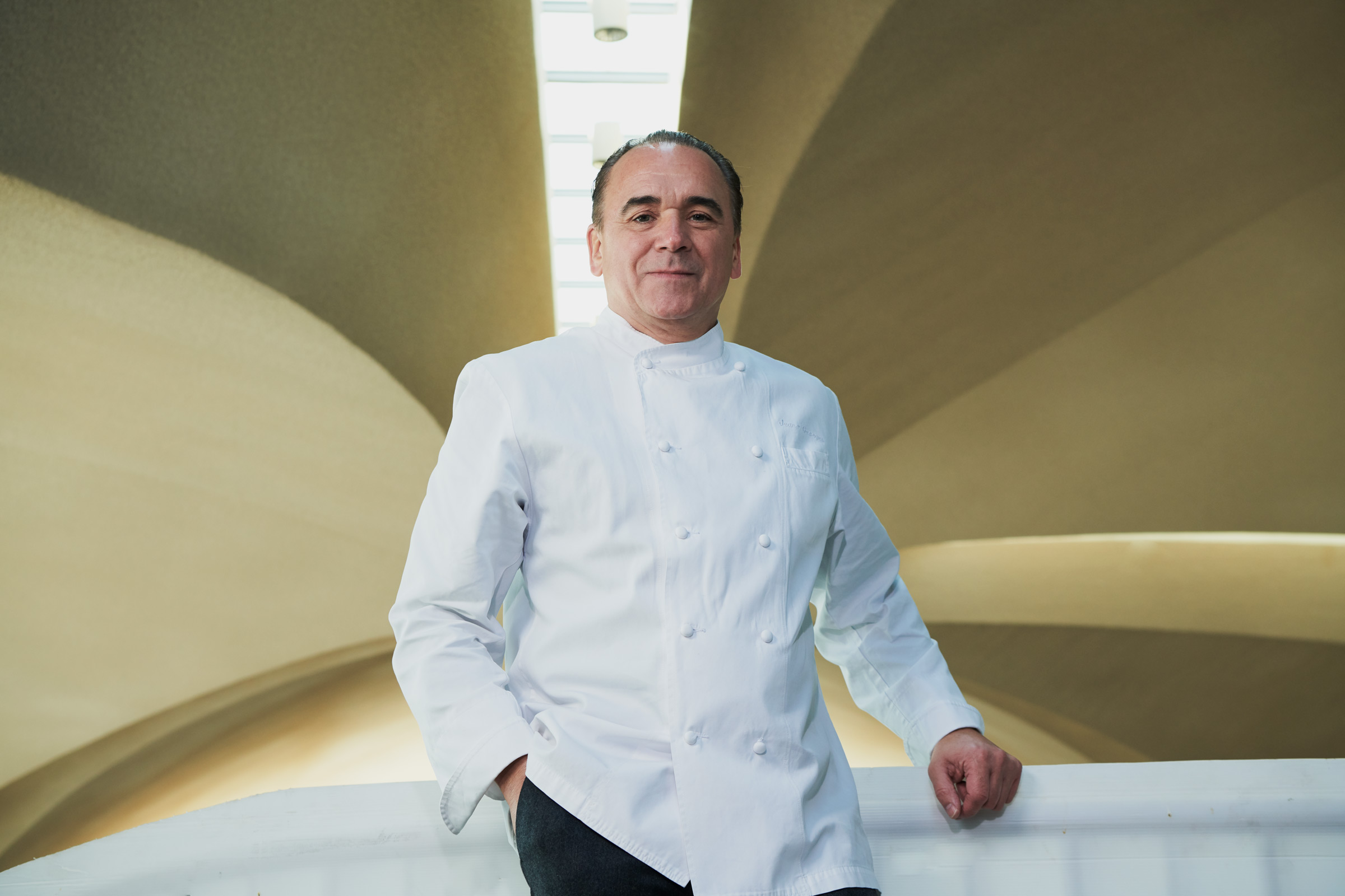 Jean-Georges Vongerichten at the TWA Flight Center