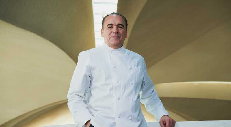 Jean-Georges Vongerichten at the TWA Hotel