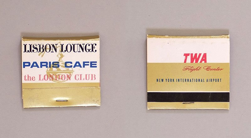 TWA Matchbooks