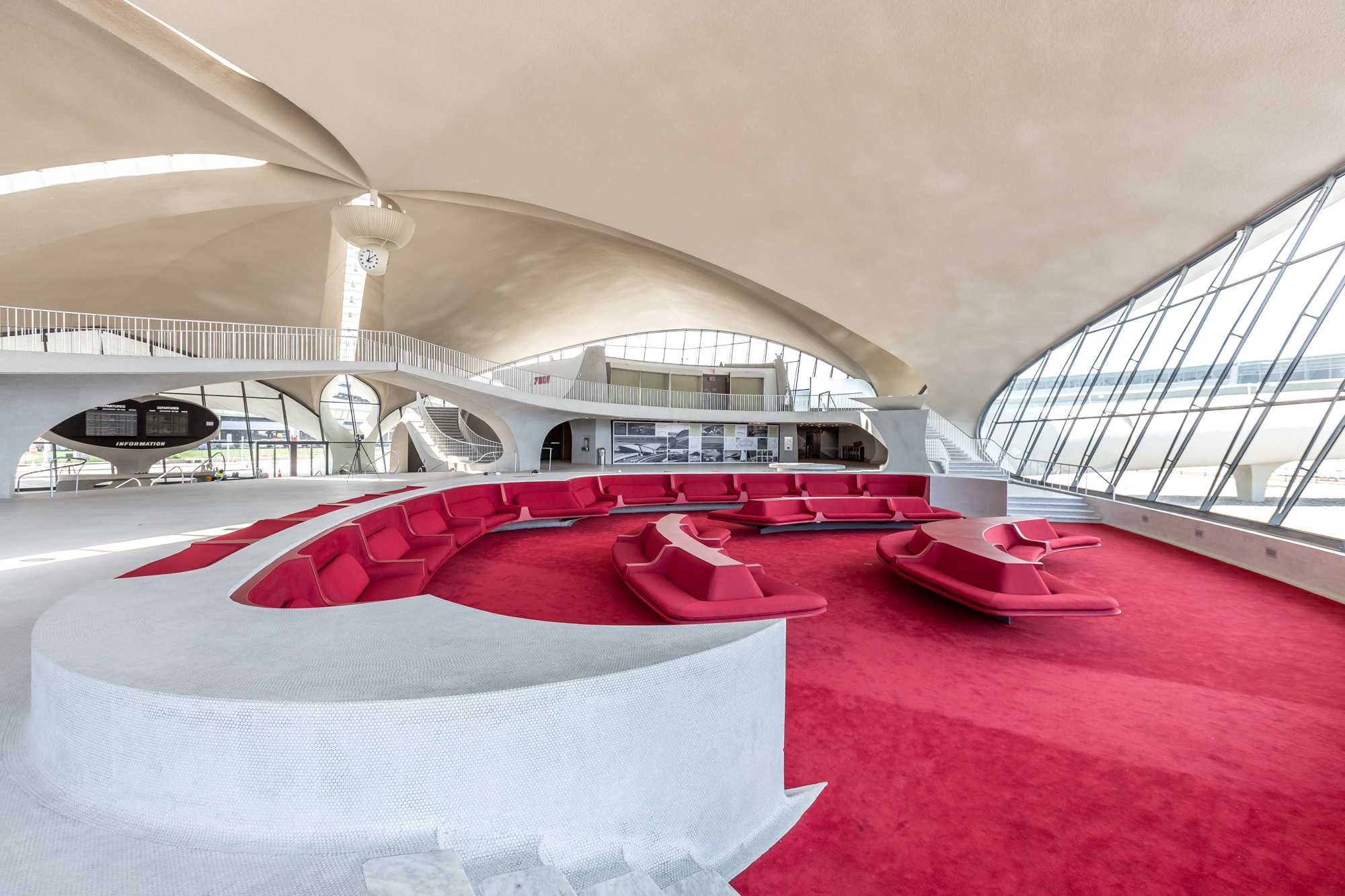 The Sunken Lounge at the TWA Hotel
