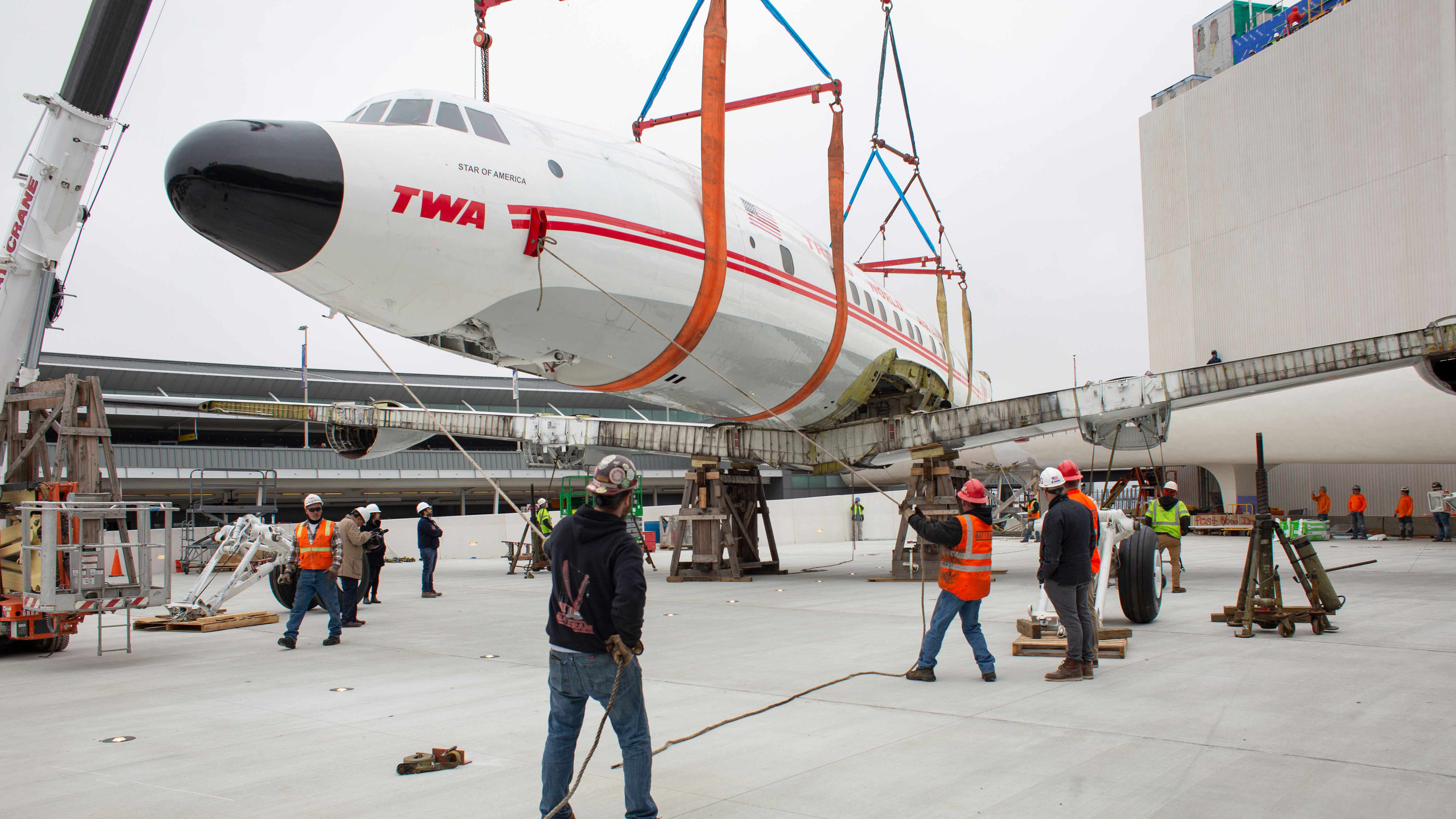 TWA Hotel Connie Crane