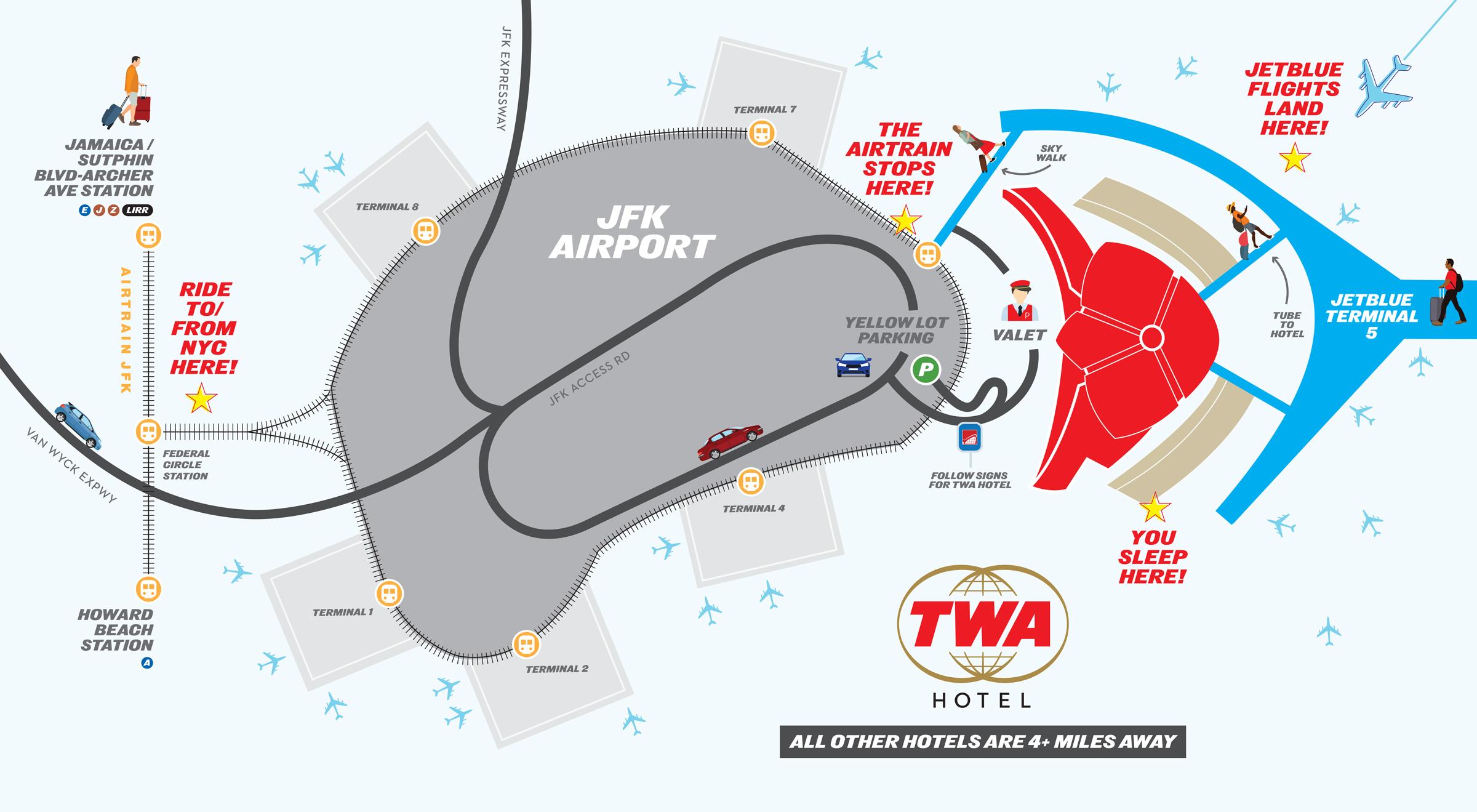 TWA Hotel | Directions