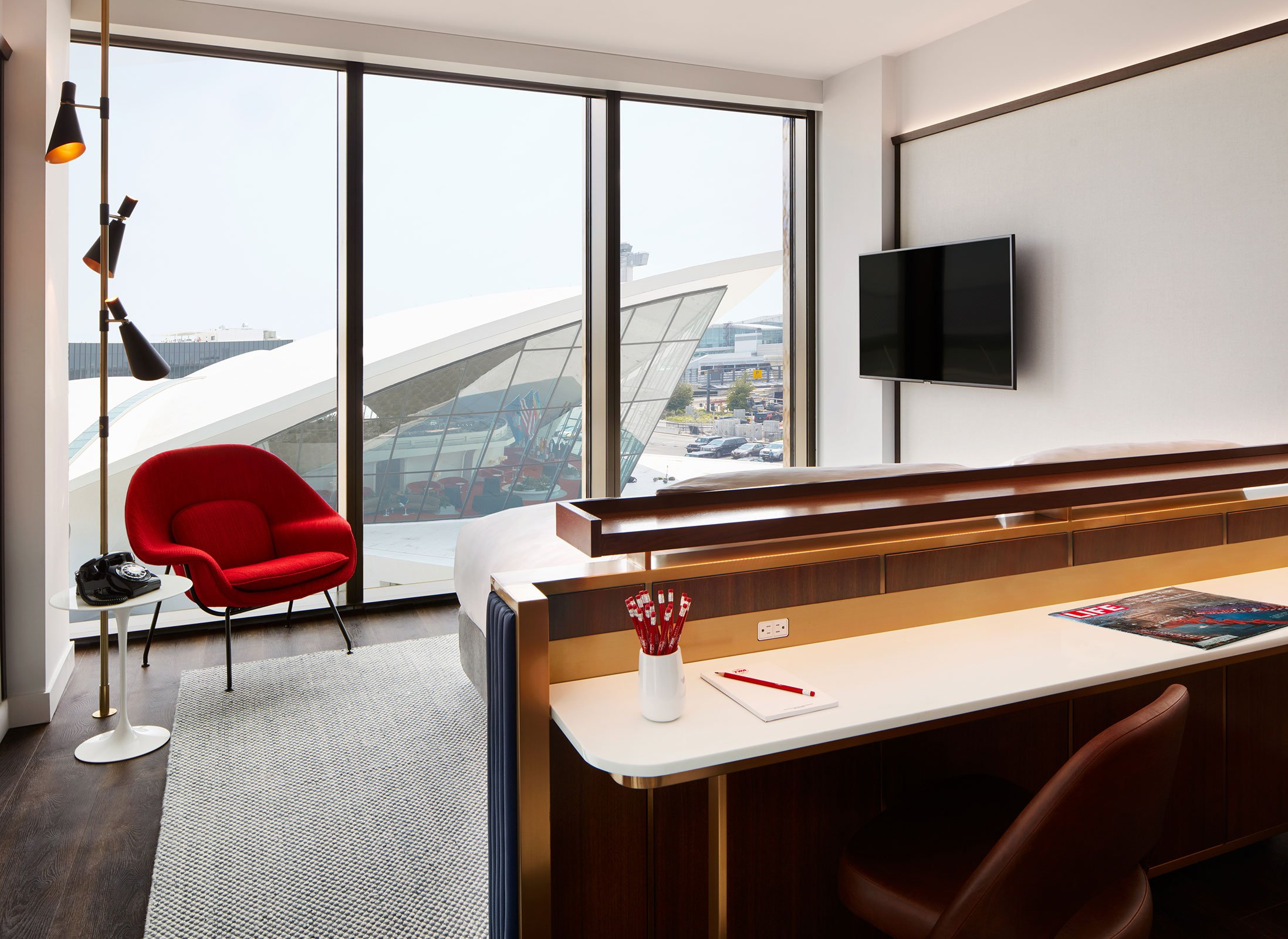 TWA Hotel Deluxe King With Historic TWA View