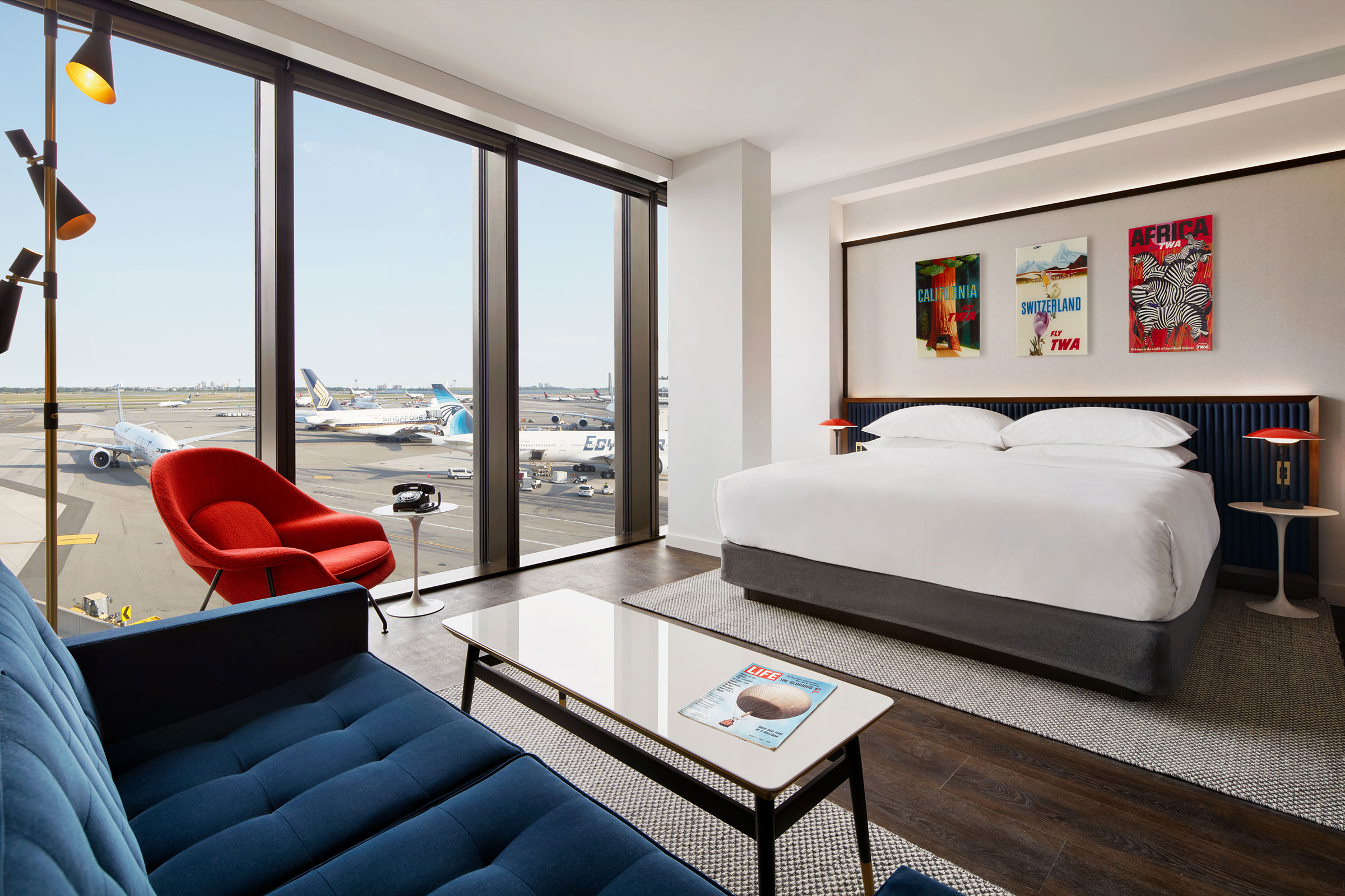 TWA Hotel Executive King Suite With Runway View