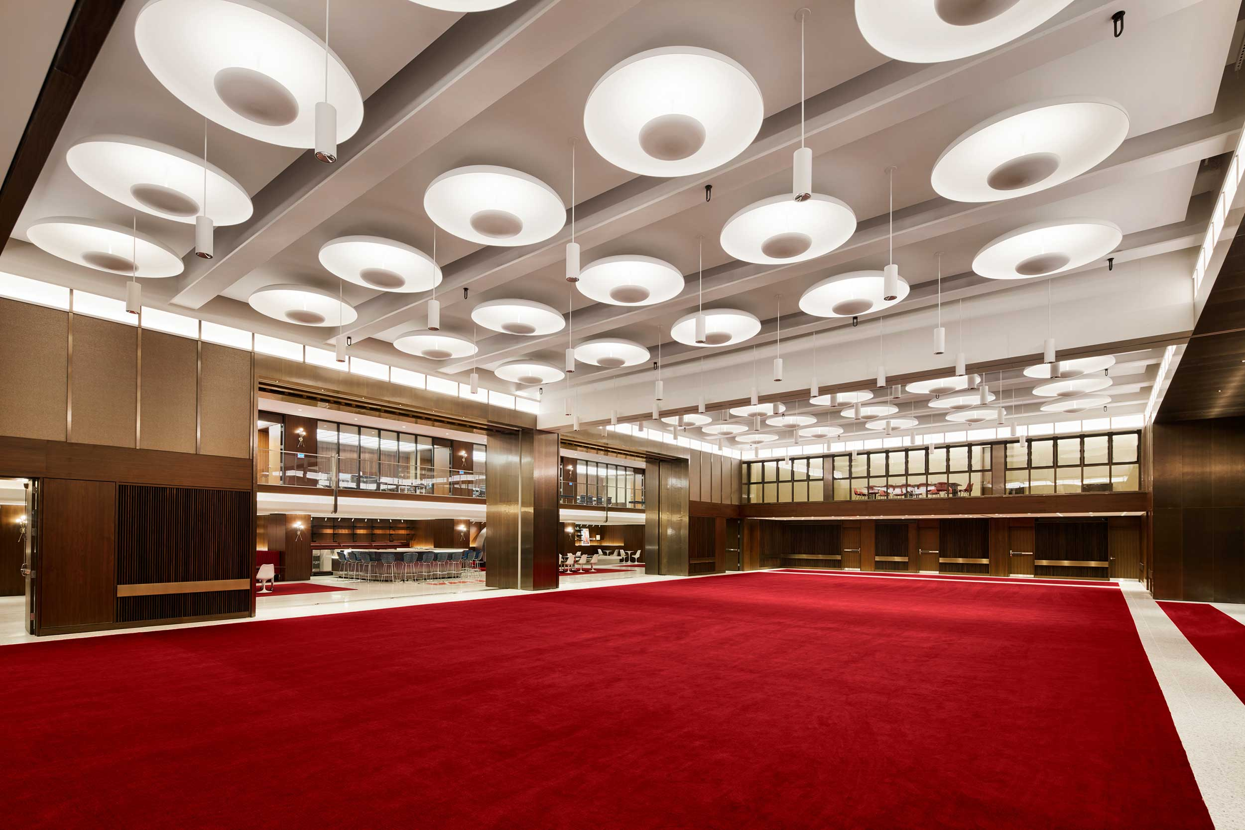 The Constellation Ballroom at the TWA Hotel